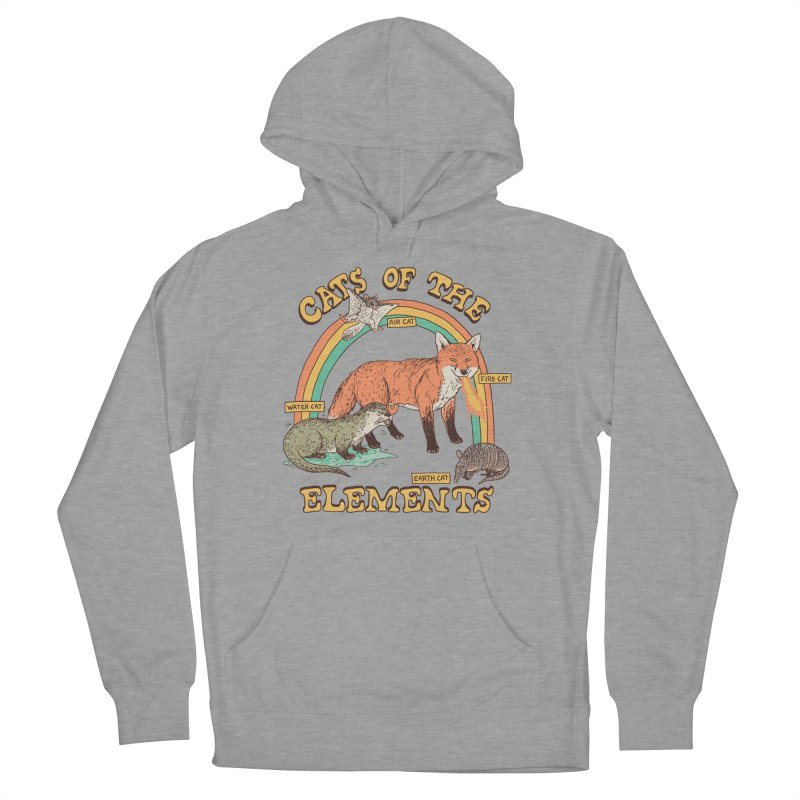 Cats Of The Elements Men's French Terry Pullover Hoody by Hillary White