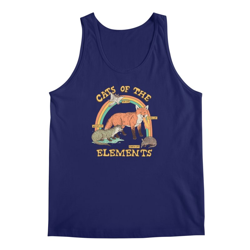 Cats Of The Elements Men's Regular Tank by Hillary White