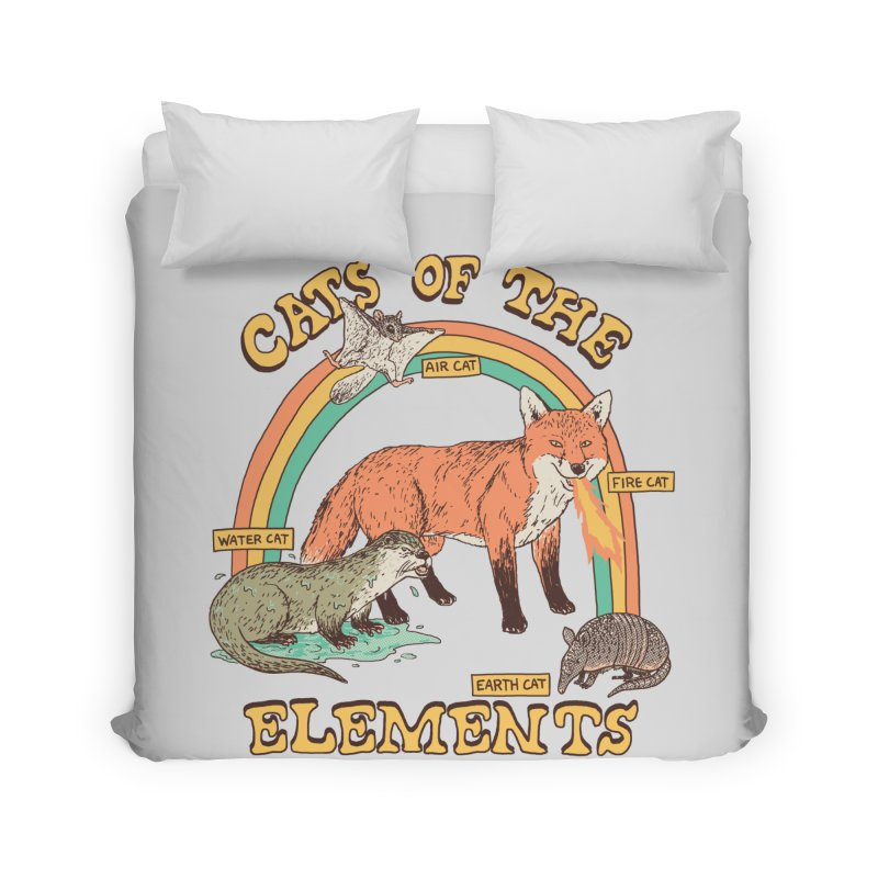 Cats Of The Elements Home Duvet by Hillary White