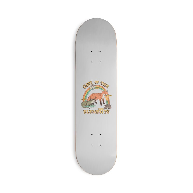 Cats Of The Elements Accessories Deck Only Skateboard by Hillary White