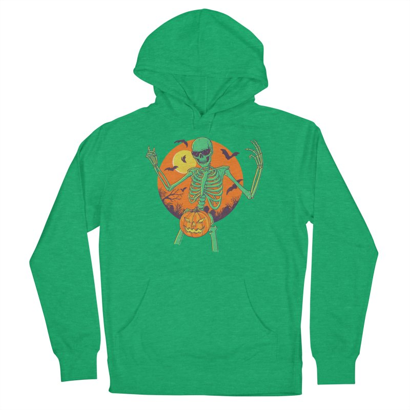 Bone In A Gourd Men's French Terry Pullover Hoody by Hillary White