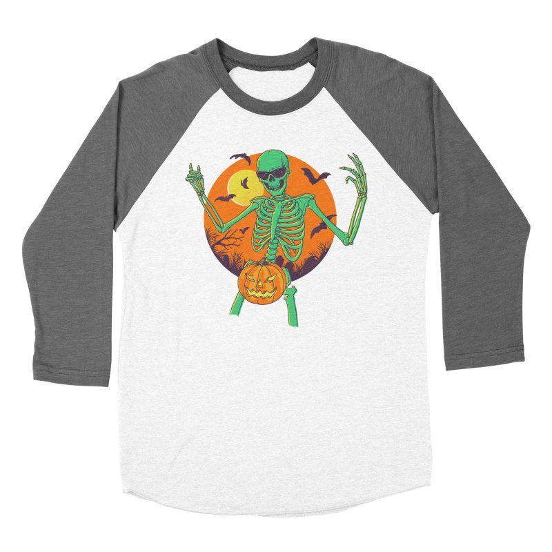 Bone In A Gourd Women's Baseball Triblend Longsleeve T-Shirt by Hillary White