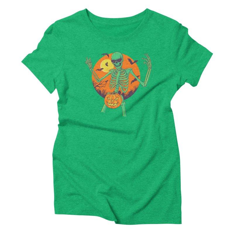 Bone In A Gourd Women's Triblend T-Shirt by Hillary White