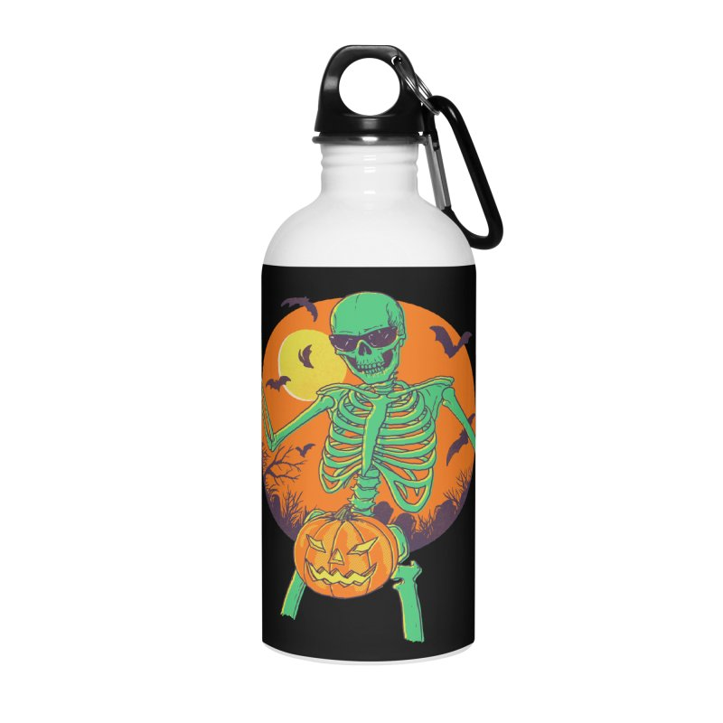 Bone In A Gourd Accessories Water Bottle by Hillary White