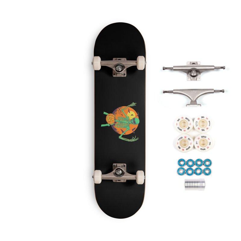 Bone In A Gourd Accessories Complete - Premium Skateboard by Hillary White
