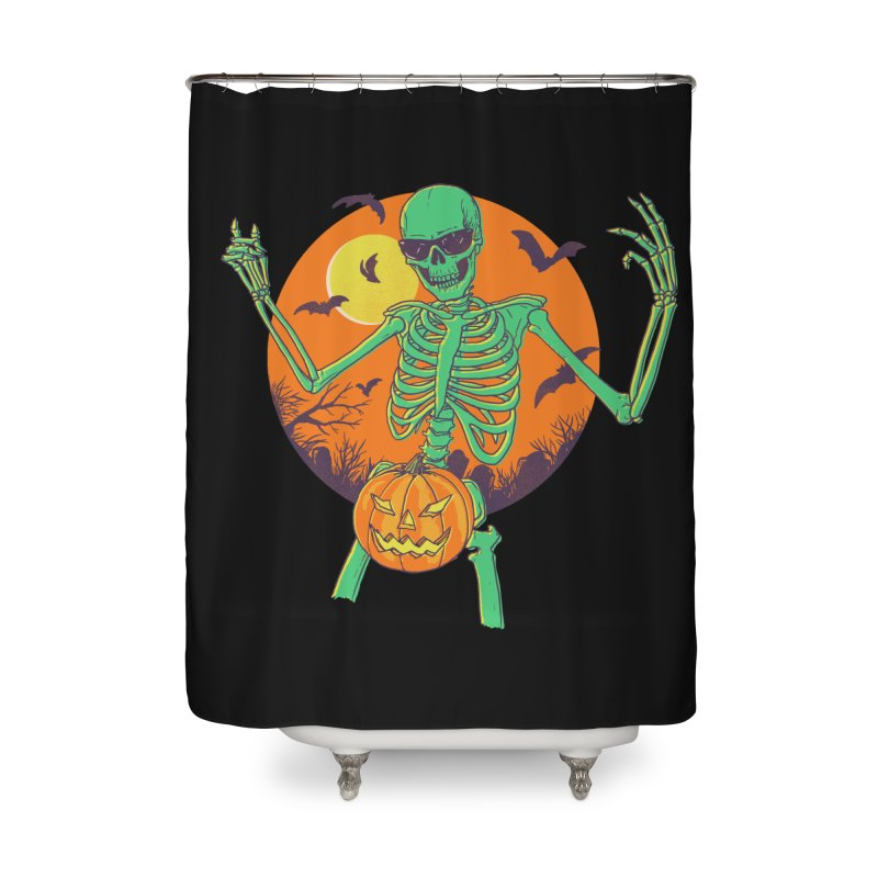 Bone In A Gourd Home Shower Curtain by Hillary White