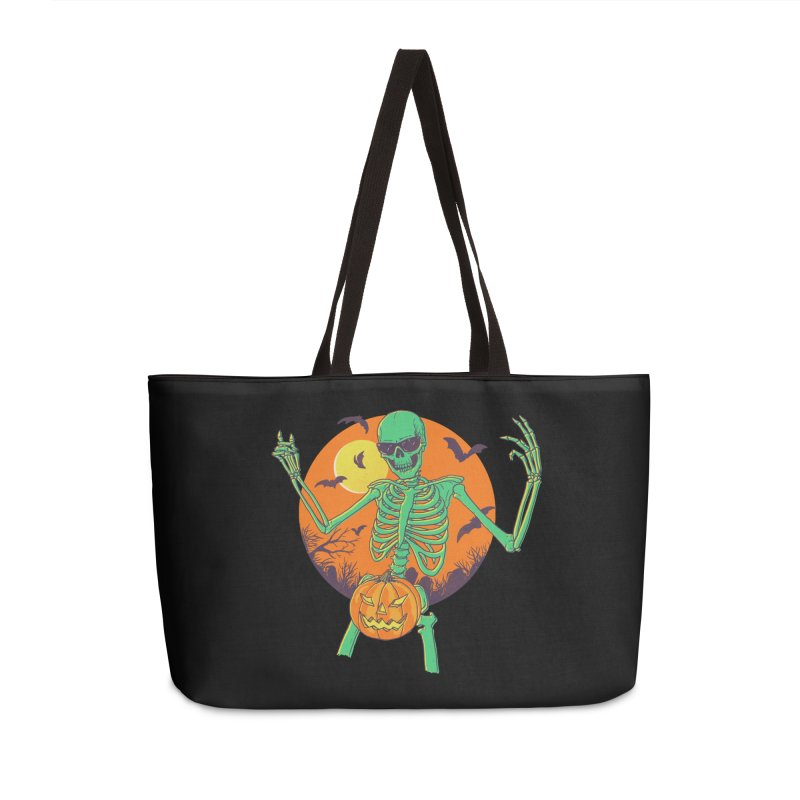 Bone In A Gourd Accessories Weekender Bag Bag by Hillary White