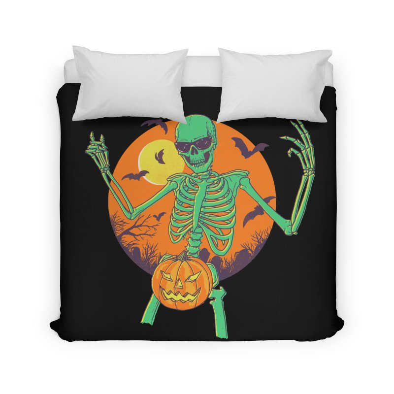 Bone In A Gourd Home Duvet by Hillary White