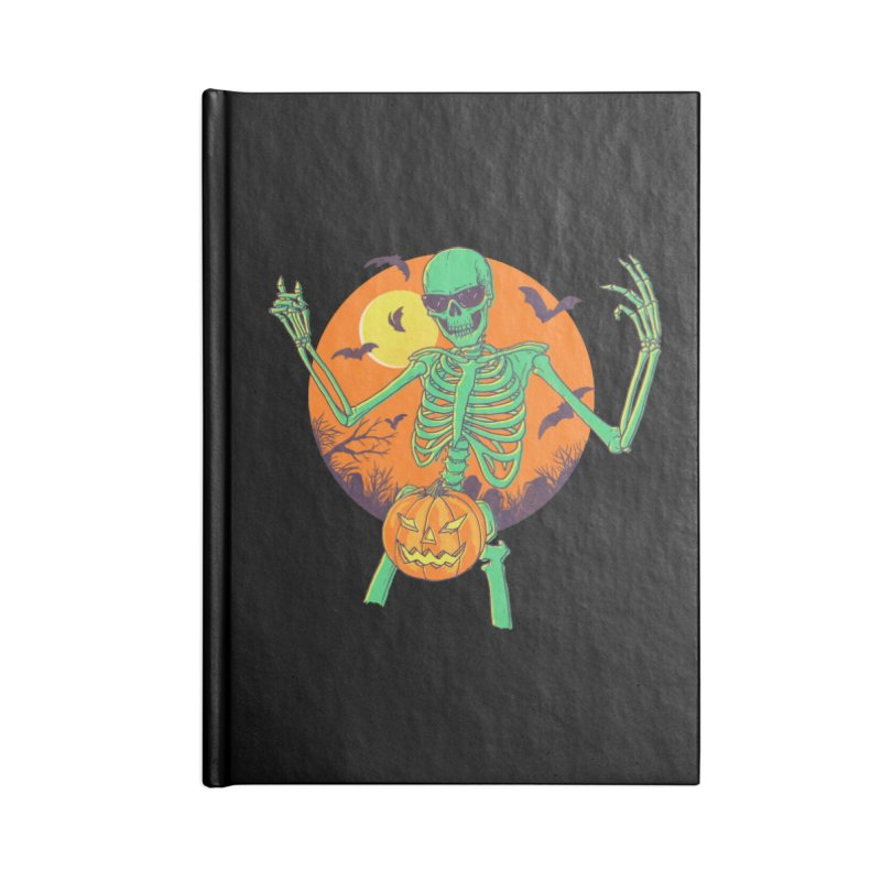 Bone In A Gourd Accessories Lined Journal Notebook by Hillary White