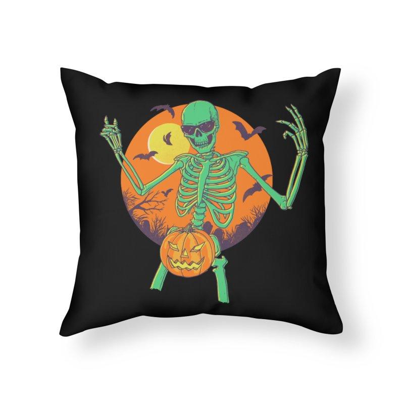 Bone In A Gourd Home Throw Pillow by Hillary White