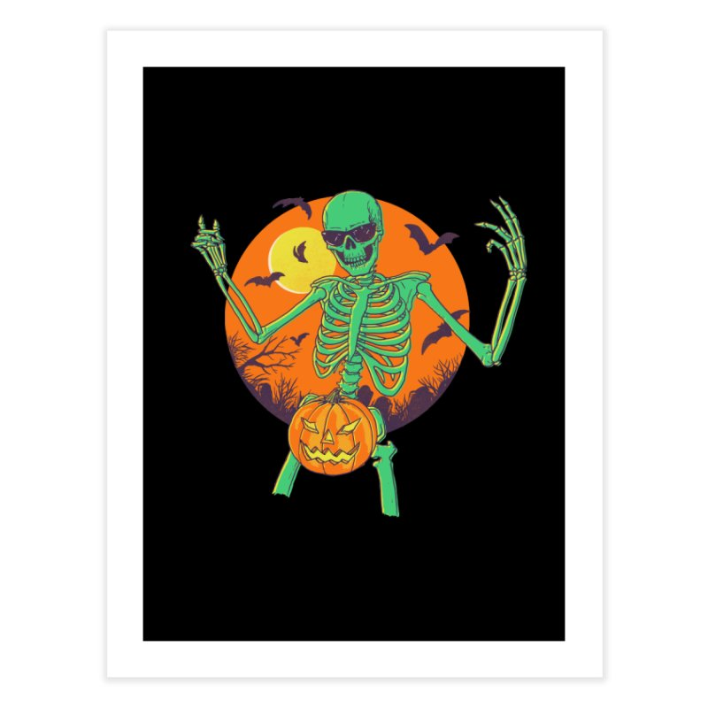 Bone In A Gourd Home Fine Art Print by Hillary White