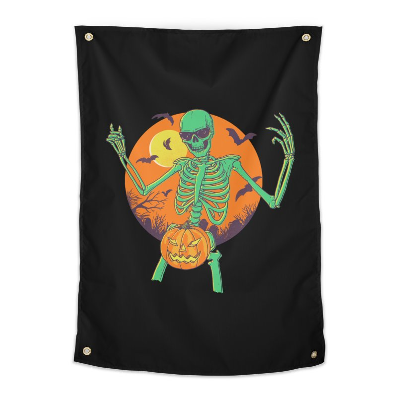 Bone In A Gourd Home Tapestry by Hillary White