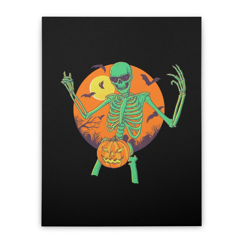 Bone In A Gourd Home Stretched Canvas by Hillary White