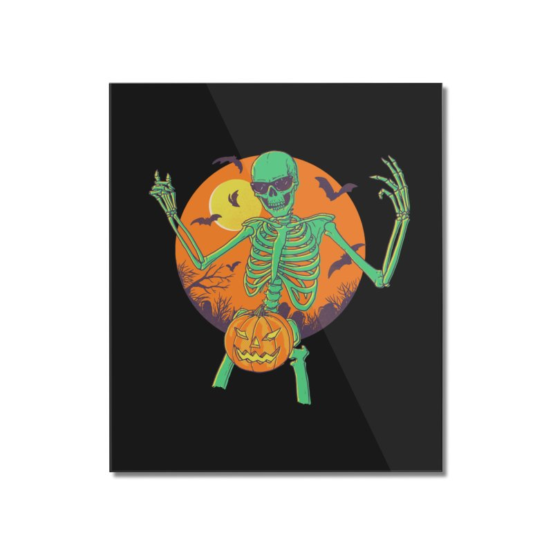 Bone In A Gourd Home Mounted Acrylic Print by Hillary White