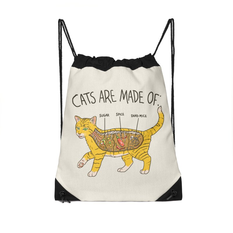 Cat Anatomy Accessories Bag by Hillary White