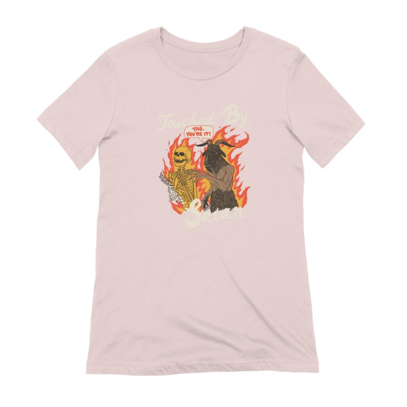 Touched By Satan Women's Extra Soft T-Shirt by Hillary White