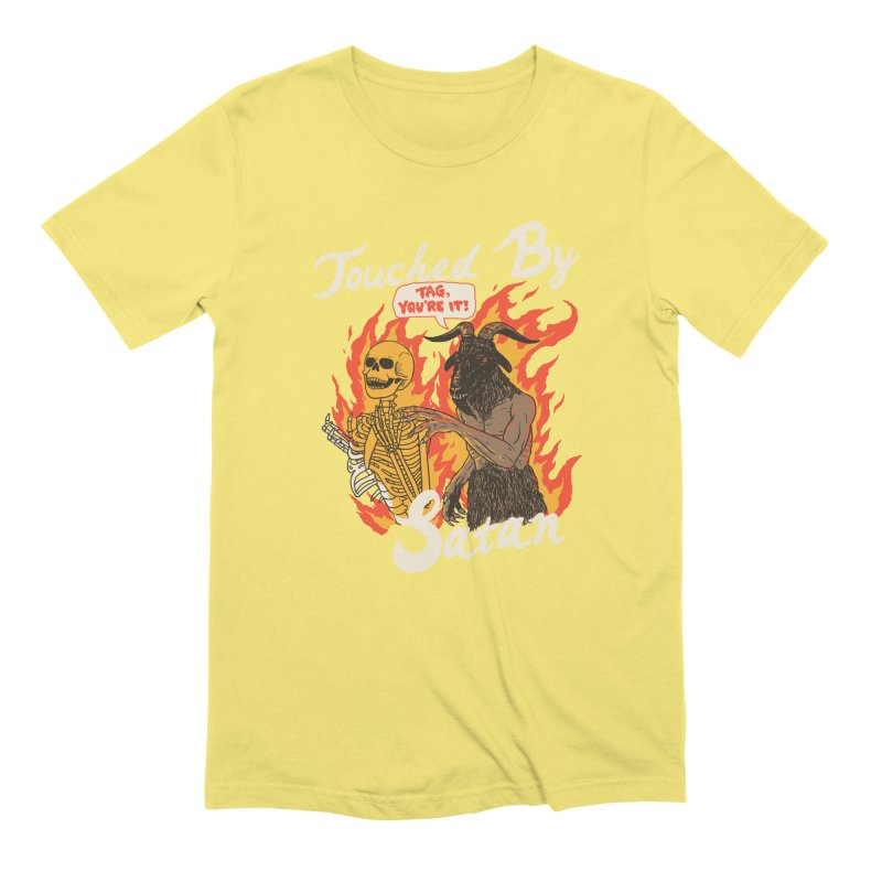 Touched By Satan Men's Extra Soft T-Shirt by Hillary White