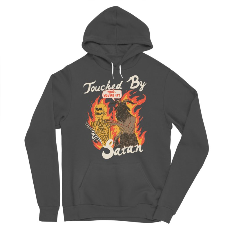 Touched By Satan Men's Sponge Fleece Pullover Hoody by Hillary White
