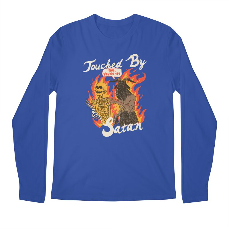 Touched By Satan Men's Regular Longsleeve T-Shirt by Hillary White