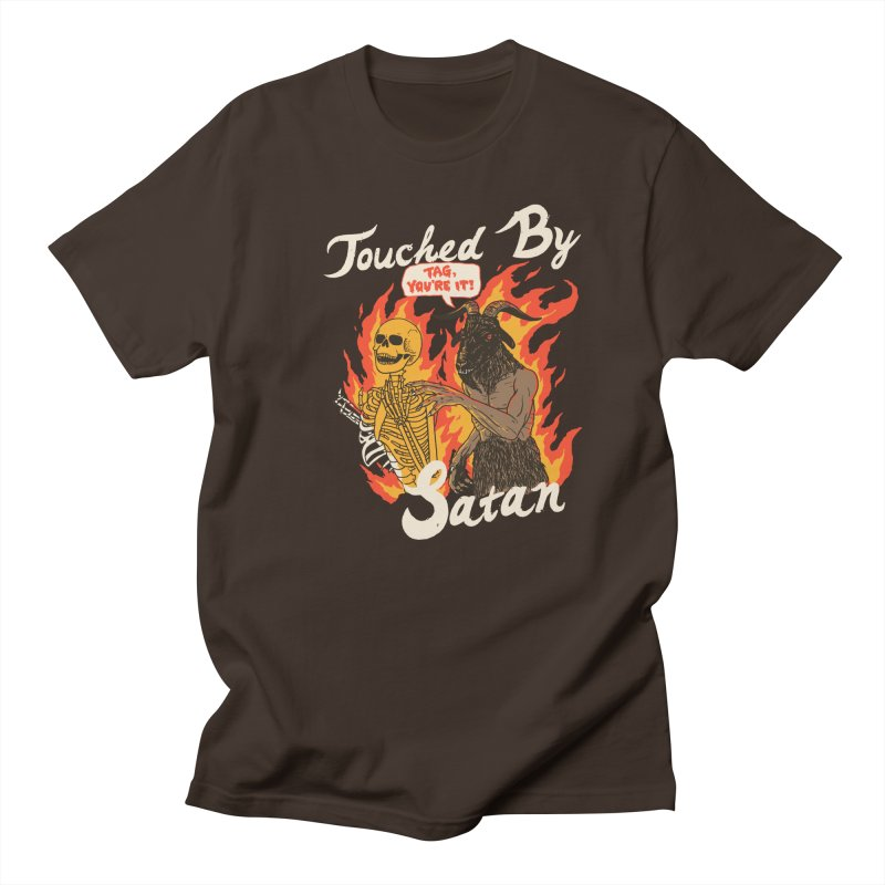 Touched By Satan Men's Regular T-Shirt by Hillary White