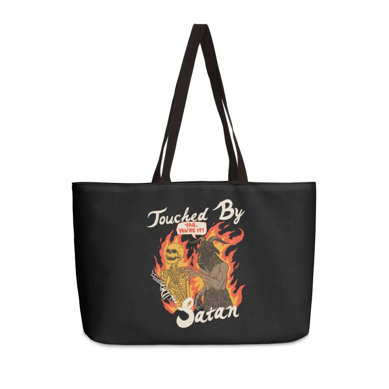 Touched By Satan Accessories Weekender Bag Bag by Hillary White