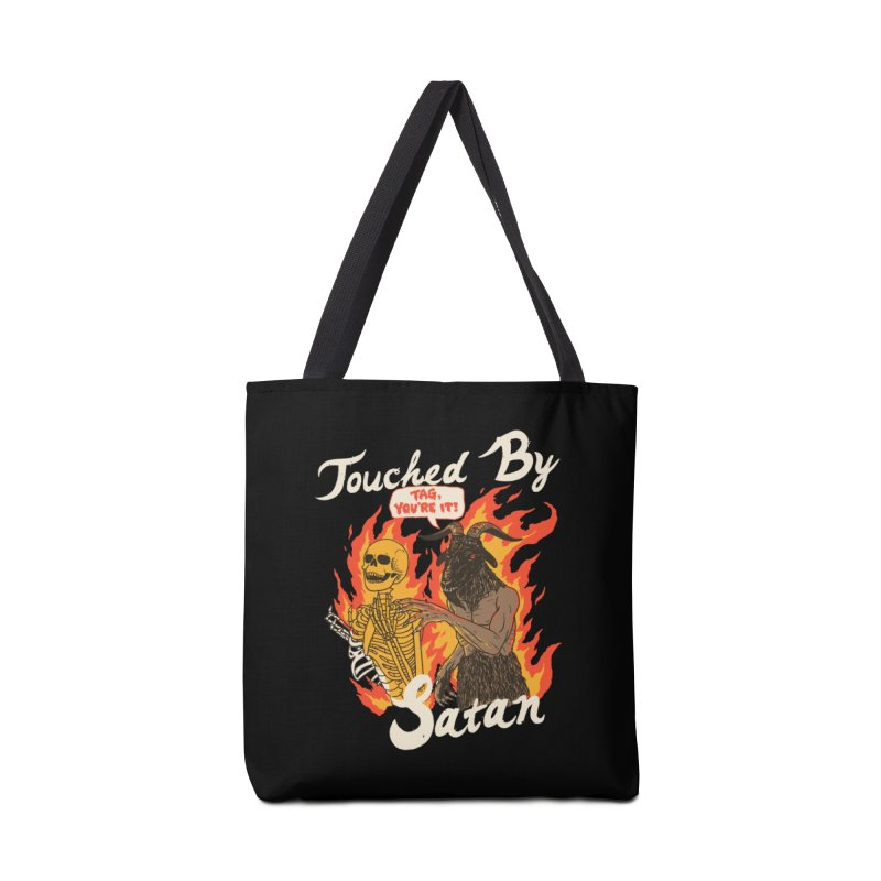 Touched By Satan Accessories Tote Bag Bag by Hillary White