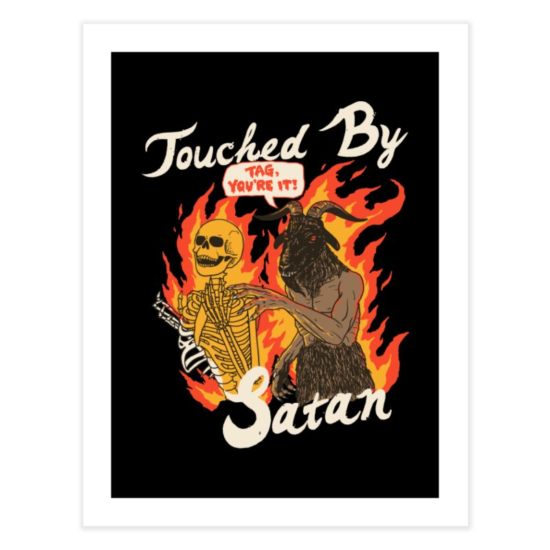 Touched By Satan Home Fine Art Print by Hillary White