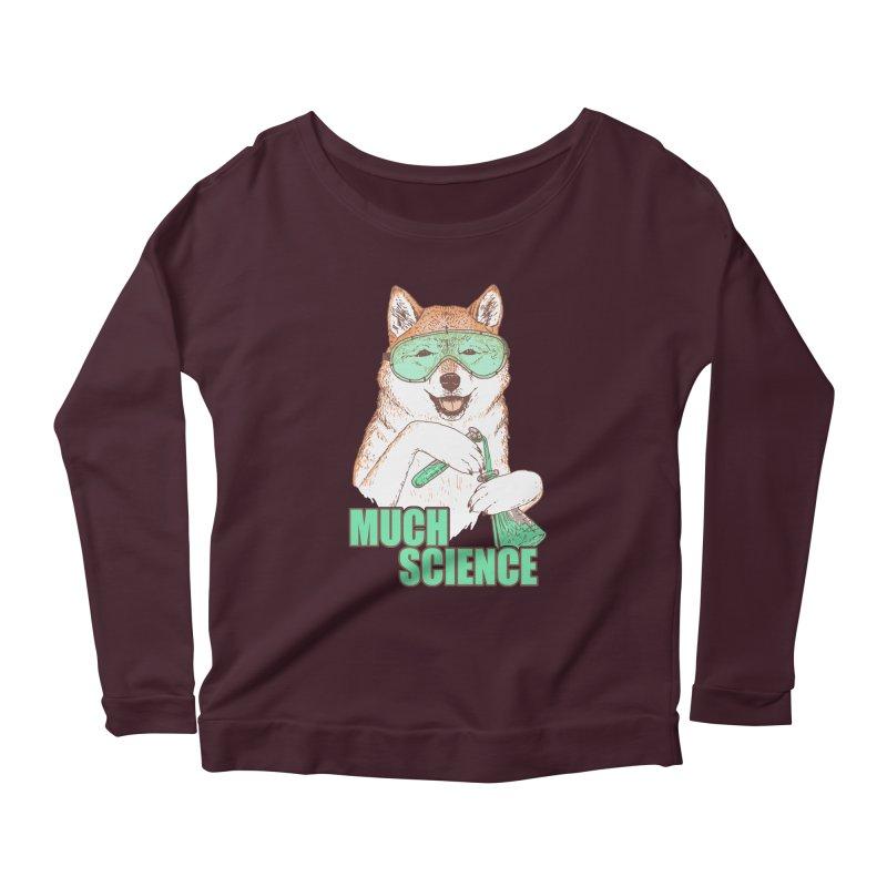 Smart Boi Women's Scoop Neck Longsleeve T-Shirt by Hillary White