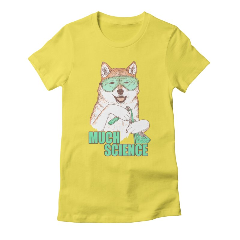 Smart Boi Women's Fitted T-Shirt by Hillary White