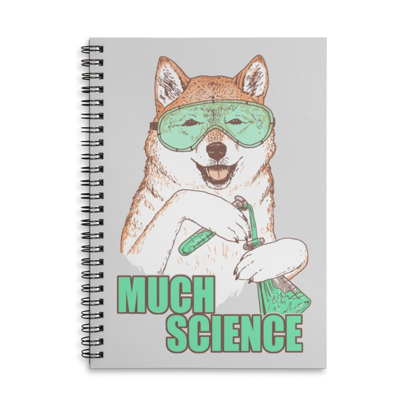 Smart Boi Accessories Lined Spiral Notebook by Hillary White