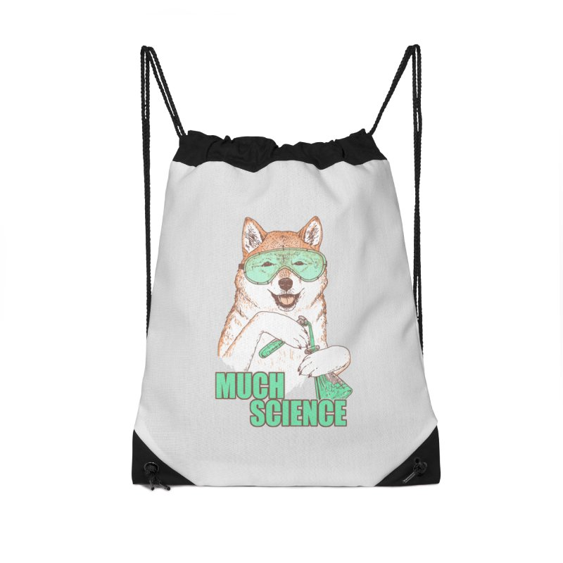 Smart Boi Accessories Drawstring Bag Bag by Hillary White