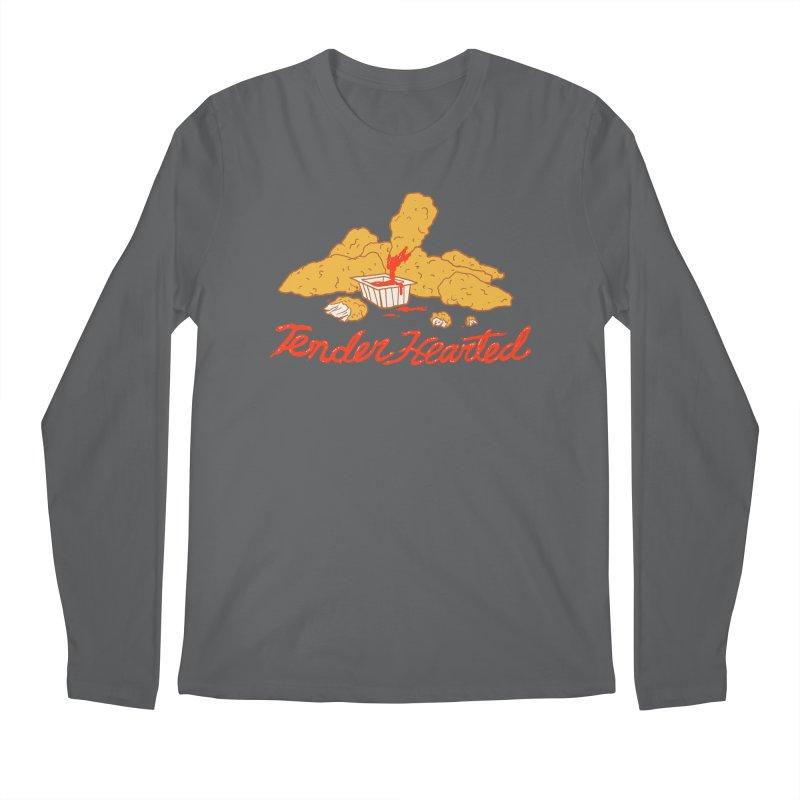 Tender Hearted Men's Regular Longsleeve T-Shirt by Hillary White