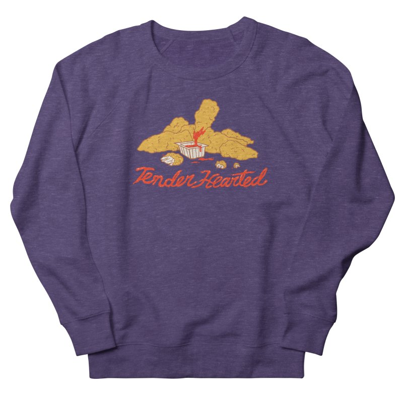 Tender Hearted Women's French Terry Sweatshirt by Hillary White