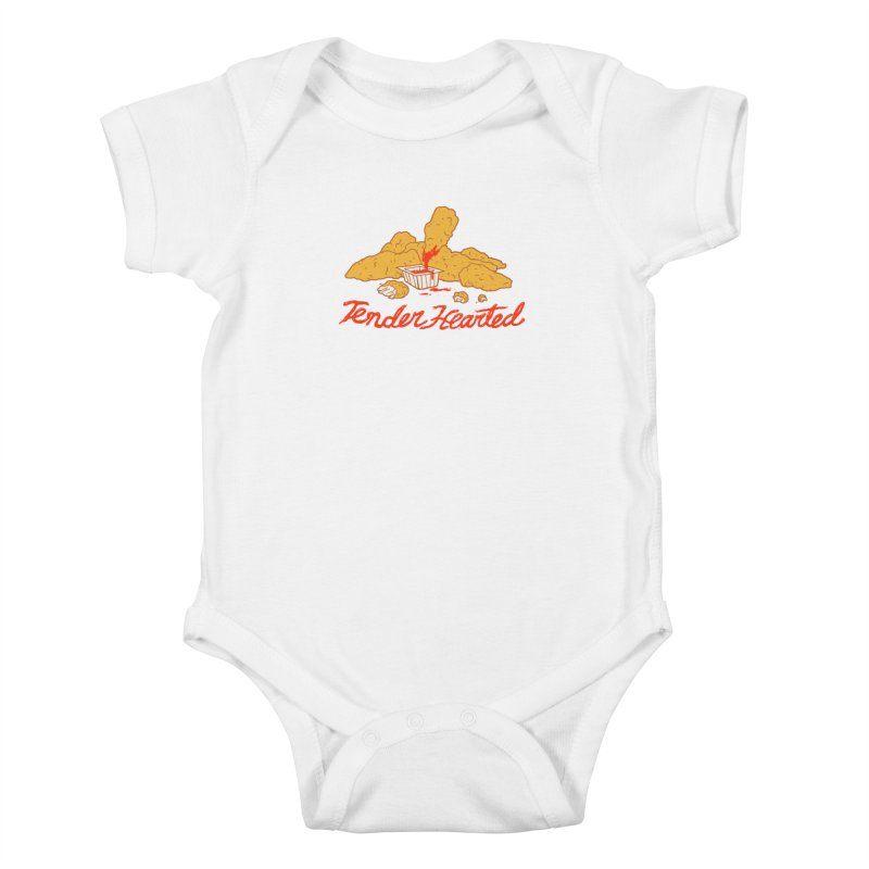 Tender Hearted Kids Baby Bodysuit by Hillary White