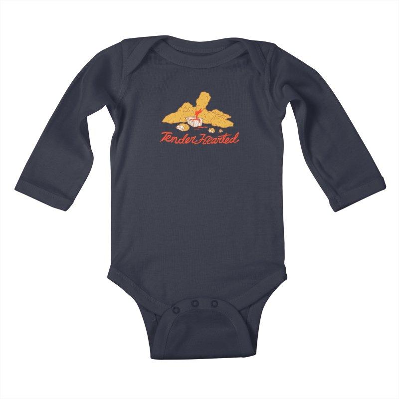 Tender Hearted Kids Baby Longsleeve Bodysuit by Hillary White
