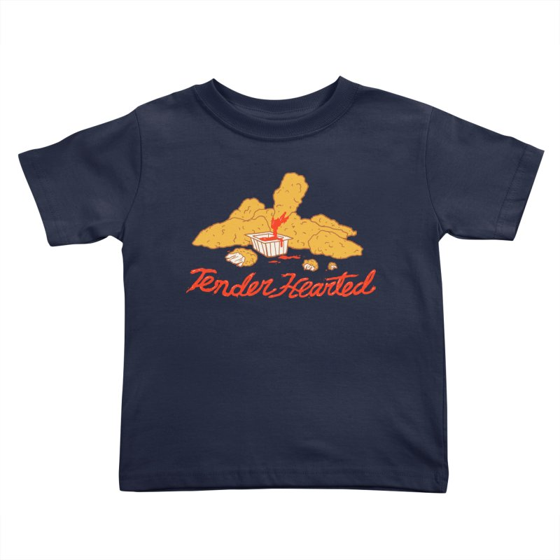 Tender Hearted Kids Toddler T-Shirt by Hillary White