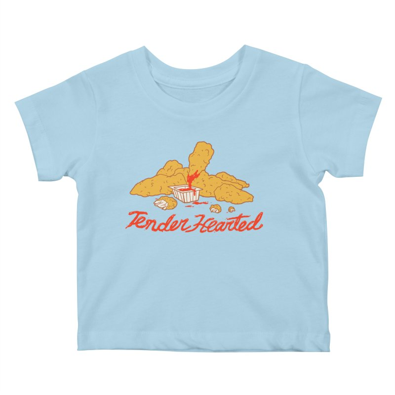 Tender Hearted Kids Baby T-Shirt by Hillary White