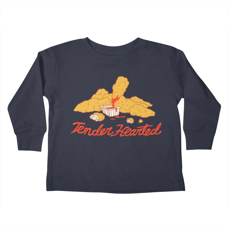 Tender Hearted Kids Toddler Longsleeve T-Shirt by Hillary White