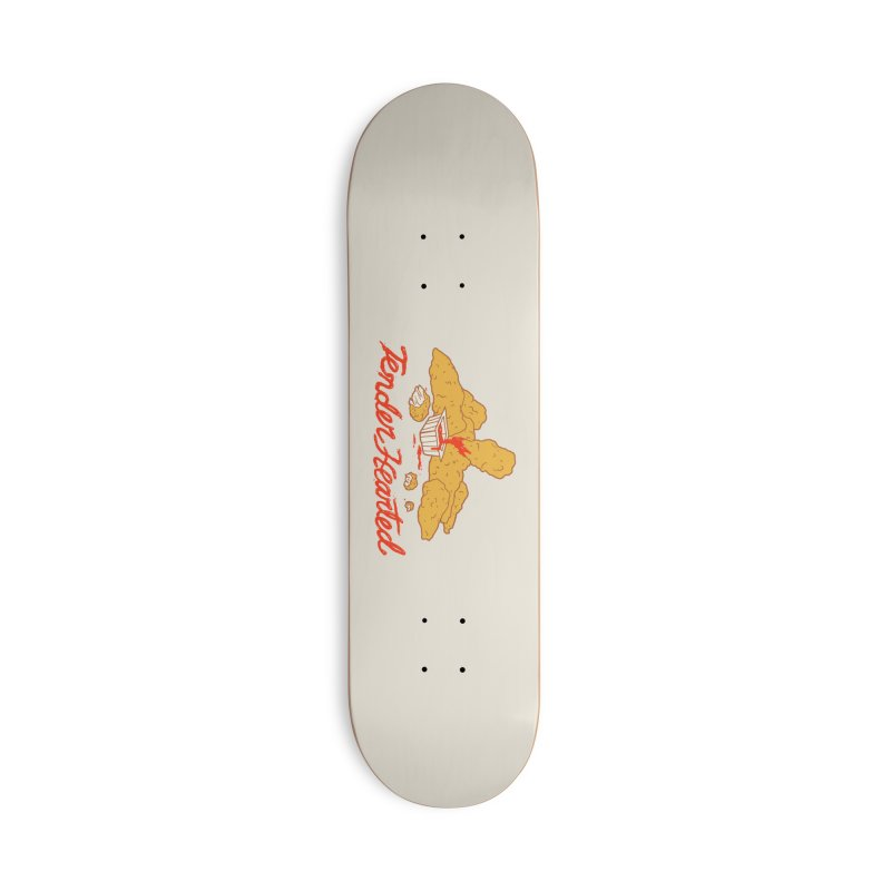 Tender Hearted Accessories Deck Only Skateboard by Hillary White