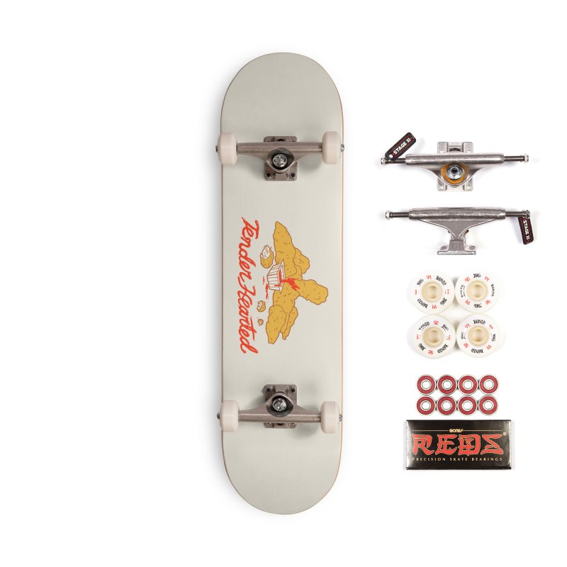 Tender Hearted Accessories Complete - Pro Skateboard by Hillary White