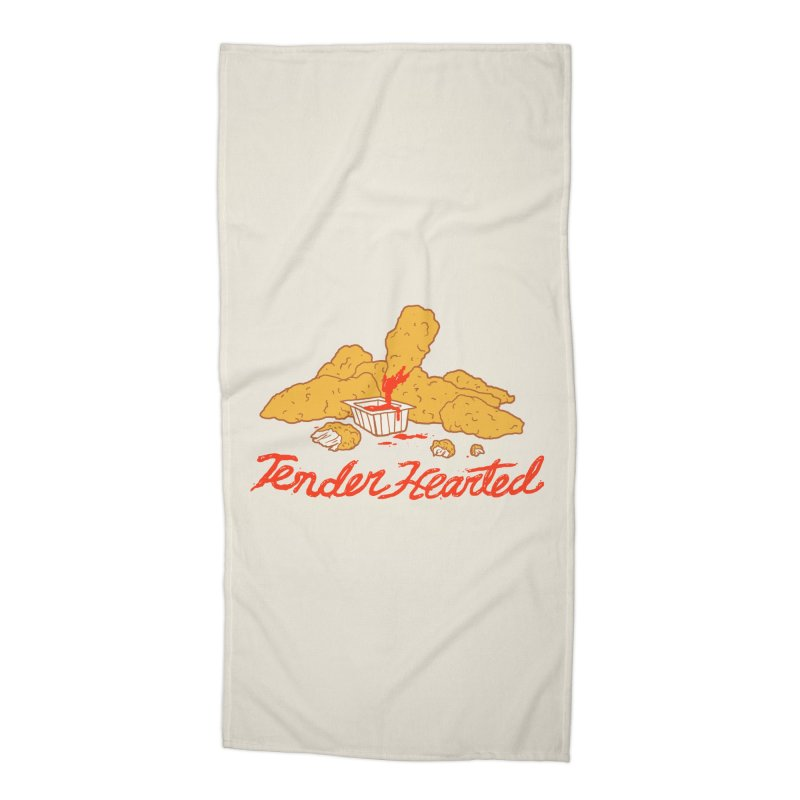 Tender Hearted Accessories Beach Towel by Hillary White