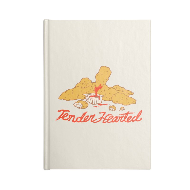 Tender Hearted Accessories Lined Journal Notebook by Hillary White