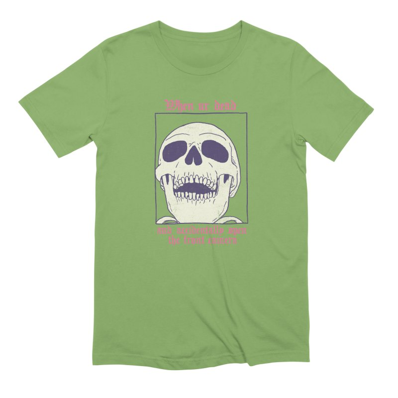 AcciDEADtal Selfie Men's Extra Soft T-Shirt by Hillary White