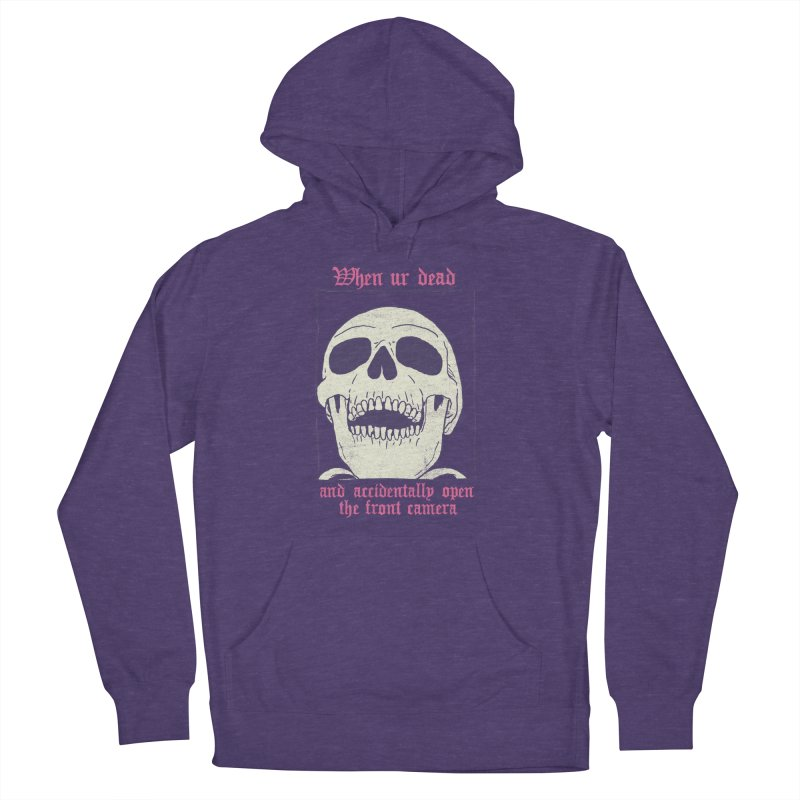 AcciDEADtal Selfie Men's French Terry Pullover Hoody by Hillary White