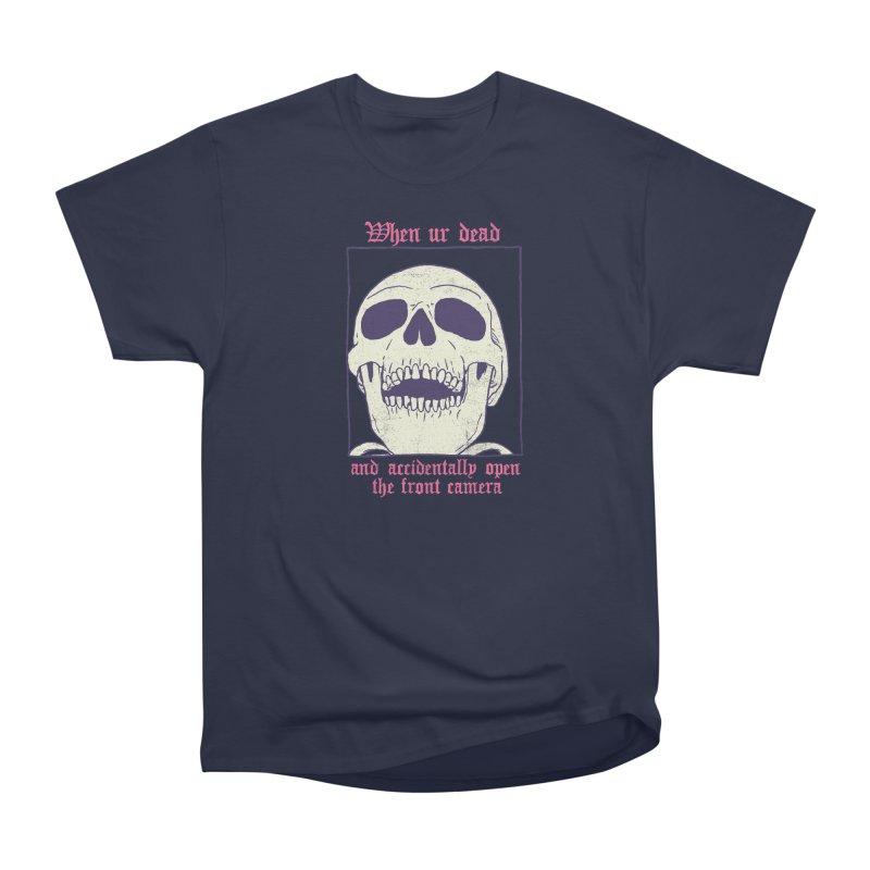 AcciDEADtal Selfie Women's Heavyweight Unisex T-Shirt by Hillary White