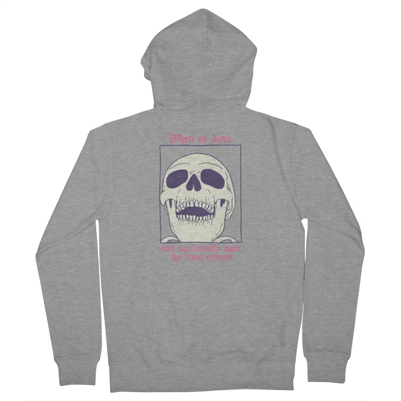 AcciDEADtal Selfie Women's French Terry Zip-Up Hoody by Hillary White