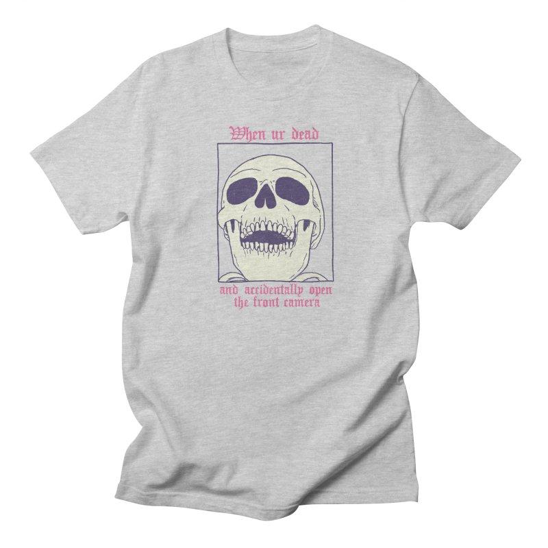 AcciDEADtal Selfie Men's Regular T-Shirt by Hillary White