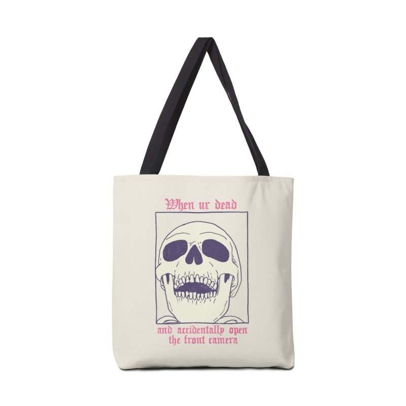 AcciDEADtal Selfie Accessories Tote Bag Bag by Hillary White