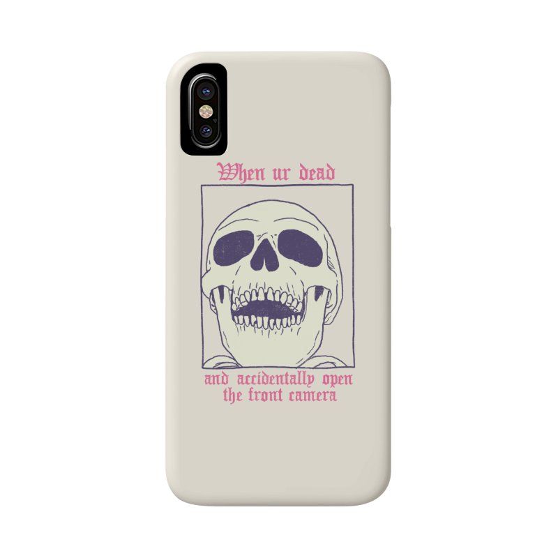 AcciDEADtal Selfie Accessories Phone Case by Hillary White