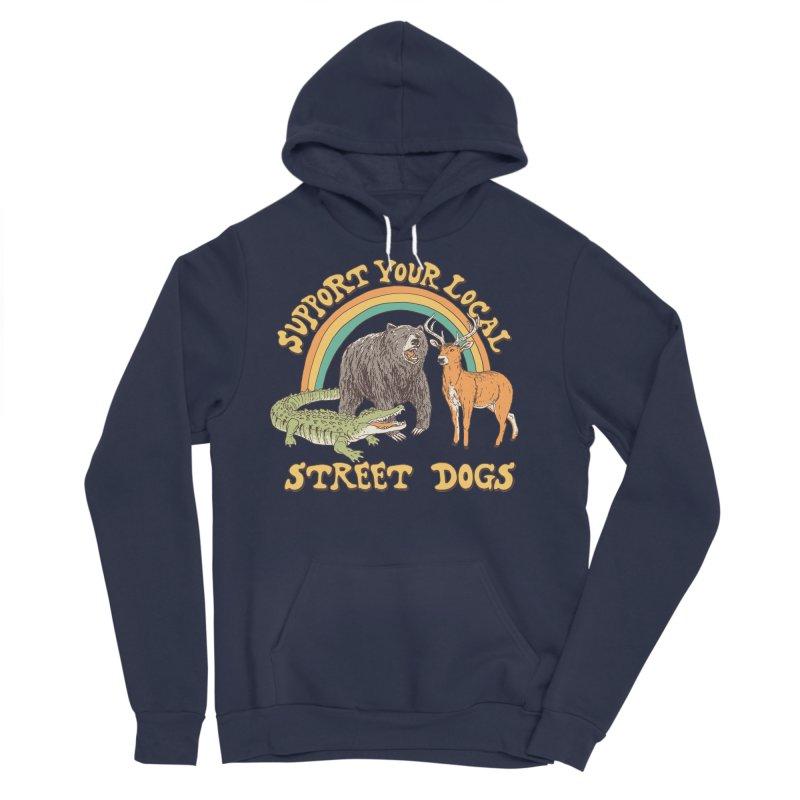 Street Dogs Women's Sponge Fleece Pullover Hoody by Hillary White